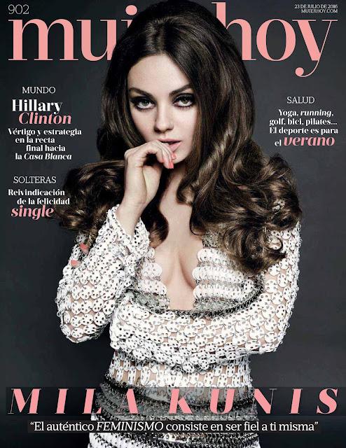 Actress, @ Mila Kunis - Mujer Hoy Magazine Spain July 2016