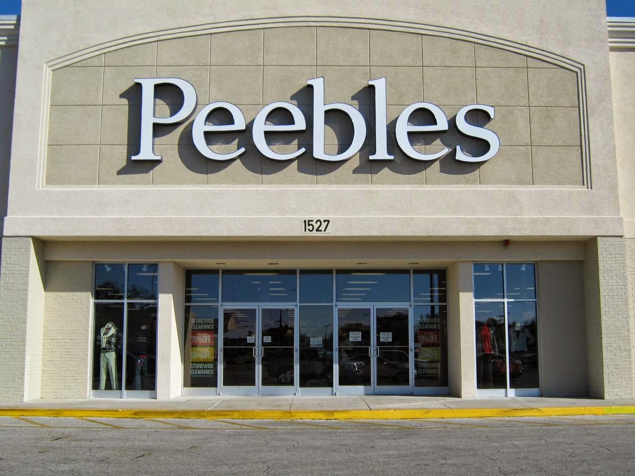 Peebles online shopping
