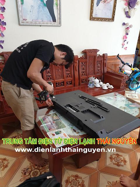 Hình ảnh sửa tivi lg tại nhà ở Thái Nguyên