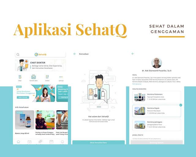 Mengenal Layanan Kesehatan Digital SehatQ.com
