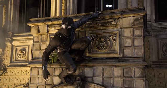 Sut Hitam Spiderman
