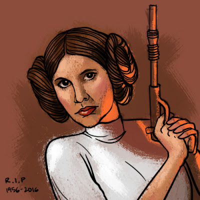 RIP Carrie Fisher! (Princess Leia)