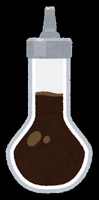 ビタースのイラスト(醤油)