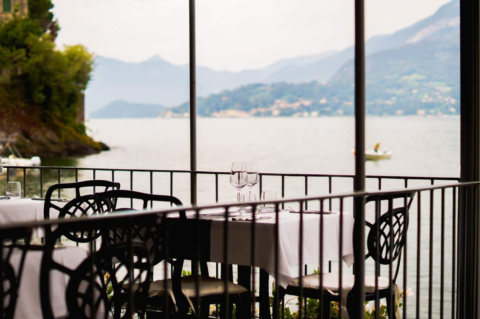 restaurant lac de come