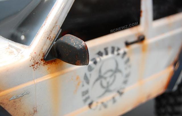 Traxxas TRX-4 rust
