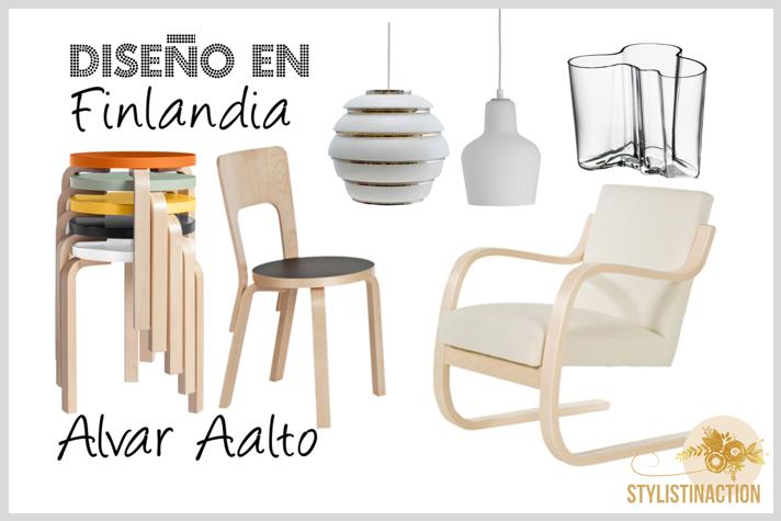 diseño en finlandia Alvar Aalto post estilo nordico o escandinavo