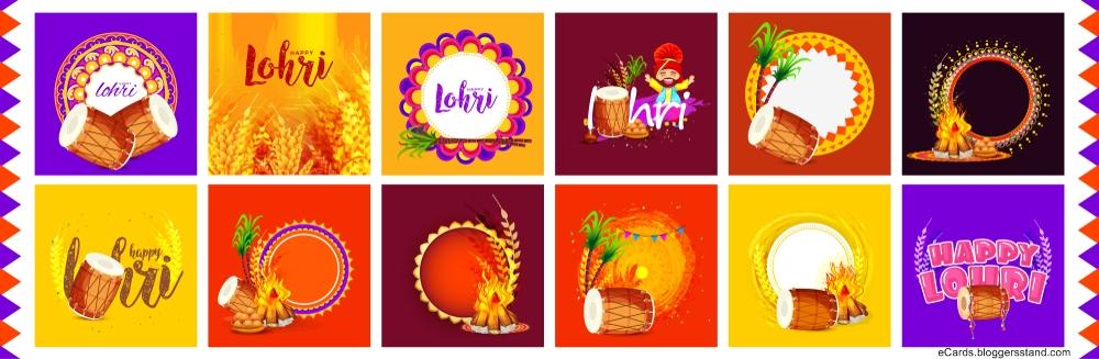Happy lohri facebook cover pics 2021