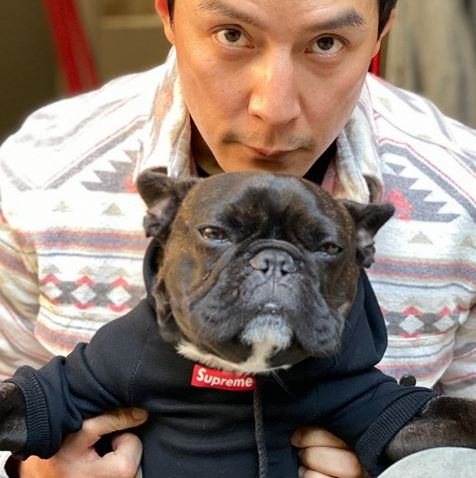 Meet Into The Badlands Actor Daniel Wu's Dog