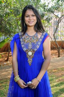 Telugu Actress Minakshi Dixit Stills in Salwar Kameez at Guru hma Movie Launch