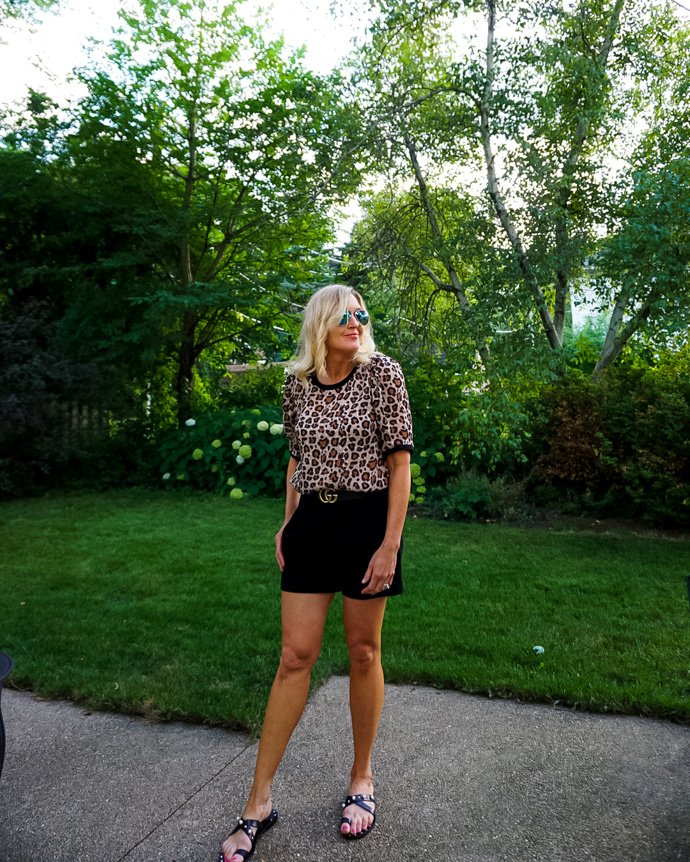Easy Animal Print Summer Outfit