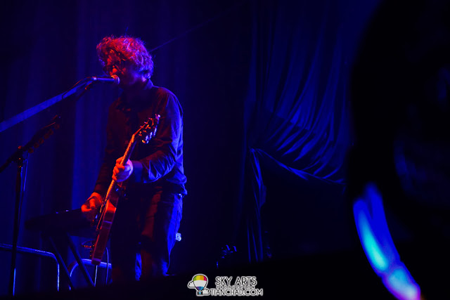 Drew Brown with his fluffy hair - OneRepublic Native Live in Malaysia 2013