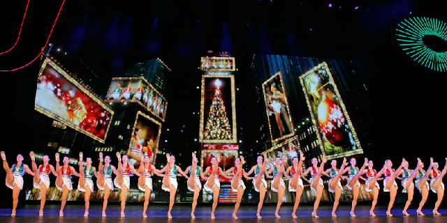 Show Radio City Christmas Spectacular em Nova York