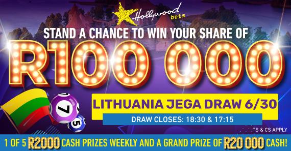 Lithuania Jega Draw 6/30