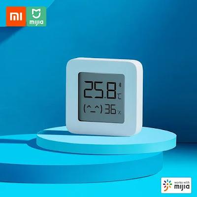 Medidor de temperatura e humidade da Xiaomi a excelente preço!