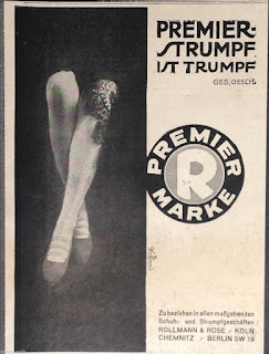 Rollmann & Rose, stockings ad (from ebay)