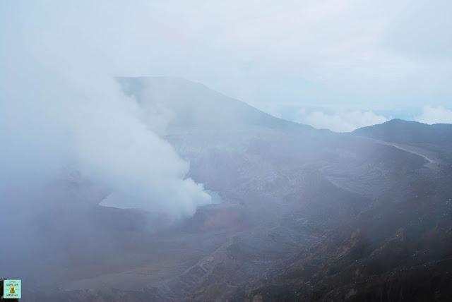 Volcán Poás tapado, Costa Rica