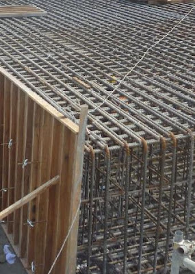 Raft Foundation: Thick raft slab to absorb differential settlement as well vibration of machine to supported on basement