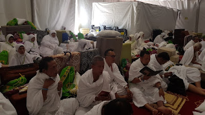 Jamaah ATRIA Ajak Keluarga-Kolega di Tanah Air Berdoa di Saat Wukuf