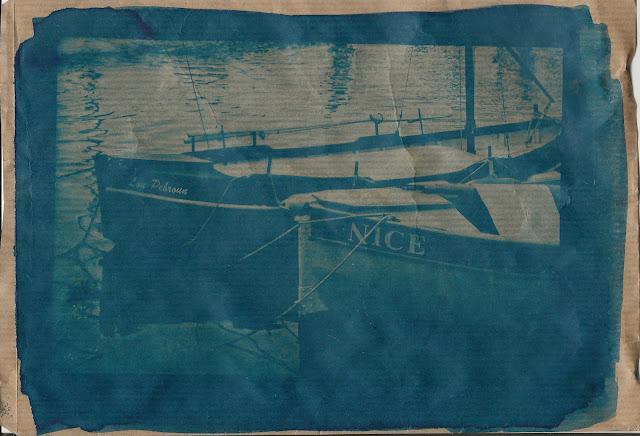 cyanotype pointus niçois