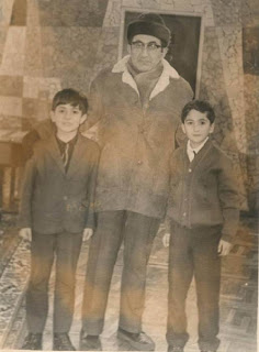 Tigran Petrosian en la Casa de Ajedrez Tigran Petrosian en 1975