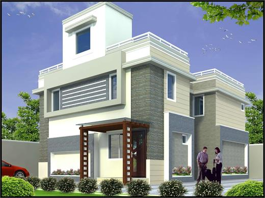 Daund Pune Duplex House Design