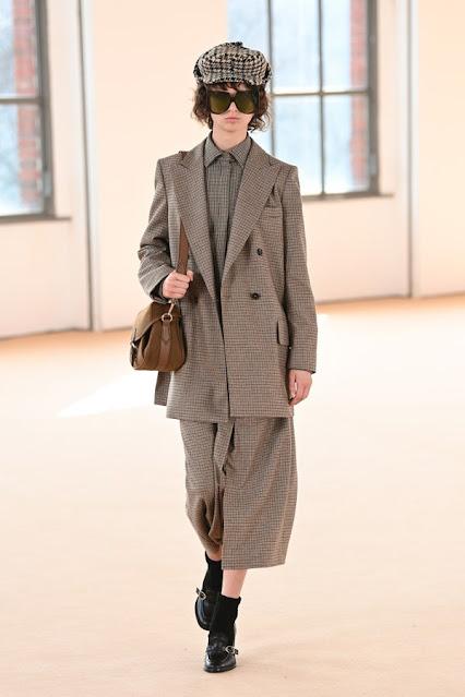 Max Mara Fall Winter 2021 Digital Runway show by New York fashion blogger Kelly Fountain