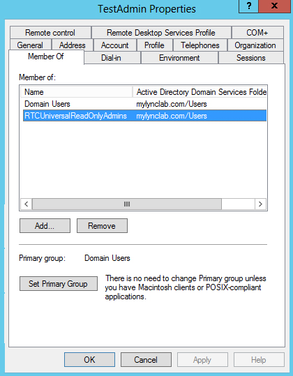 SEFAUTIL and Lync 2013 Call Pickup Group Tool Permissions