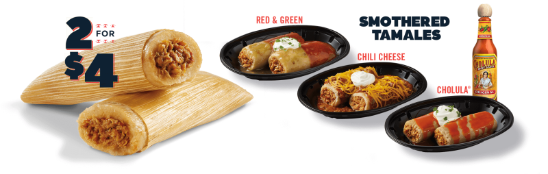 Tamales Make Annual Return to Del Taco for 2020 Holiday Season | Brand Eating