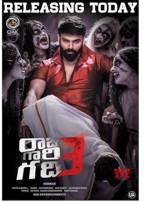 Raju Gari Gadhi 3 (2019) Telugu 720p WEB-DL 900MB ESubs