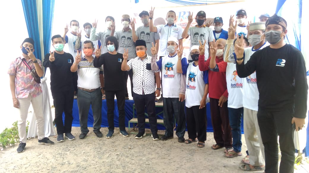 Robby : Pembangunan di Sadu Kedepan Terus Ditingkatkan