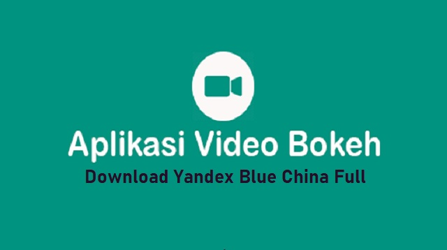 Yandex Blue China Full