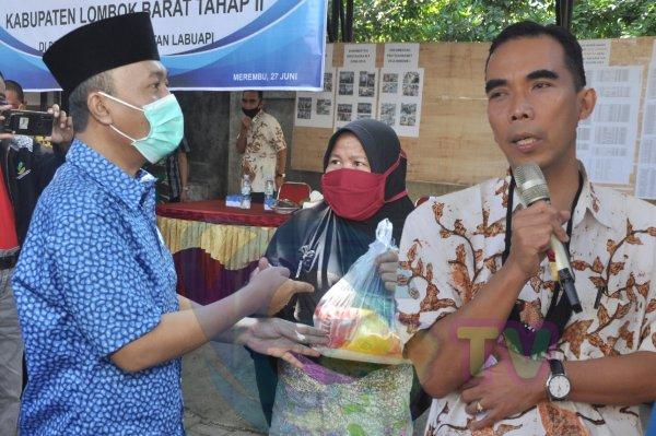 Lombok Barat Launching JPS COVID-19 TAHAP II