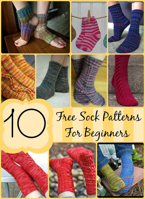 FREE Sock Patterns for Beginners