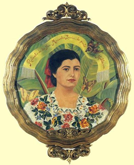 Фрида Кало - Марука Лавин. 1942
