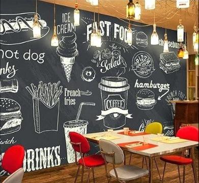 Creative Restaurant Wall Design Ideas (Places Ideas - www.places-ideas.com)