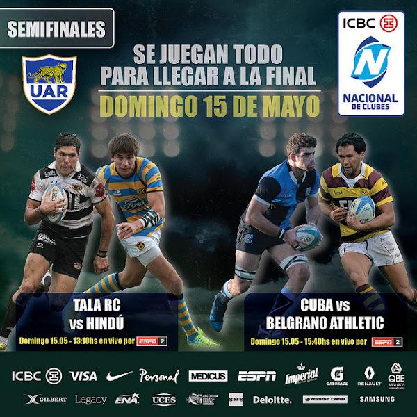 Semifinales del Nacional de Clubes