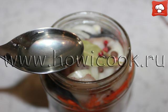 рецепт скумбрии в банке с пошаговыми фото