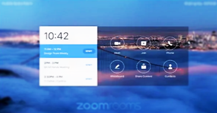 Zoom Unveils Touchscreen for Home Conferencing