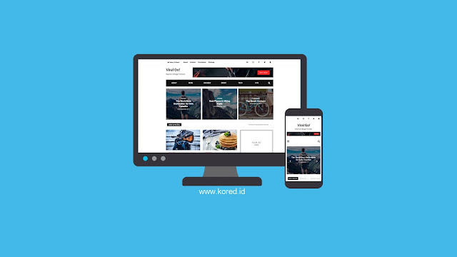 Download Template Viral Go Responsive
