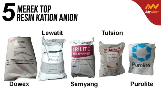 jual resin kation anion ady water