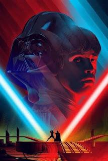 Luke Skywalker fighting Dark Varder