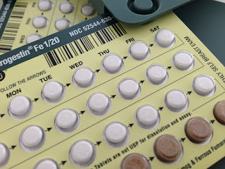 birth control pills can also cause black period blood
