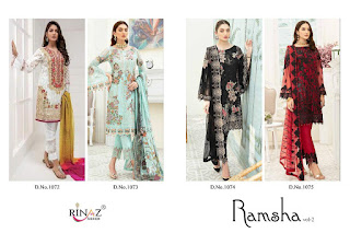 Rinaz Latest Hit Single Pakistani Suits  Collection