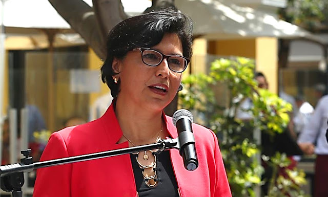 Ministra de Trabajo, Sylvia Cáceres