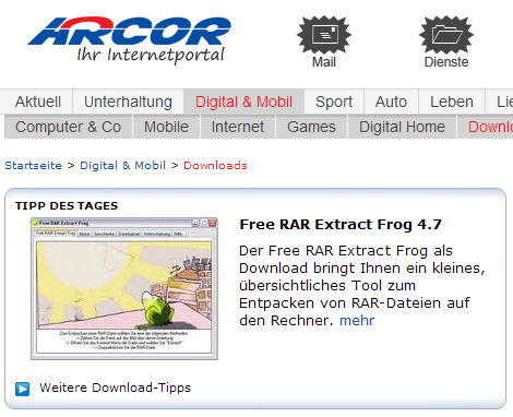 philipp winterberg empfiehlt free rar extract frog. Black Bedroom Furniture Sets. Home Design Ideas