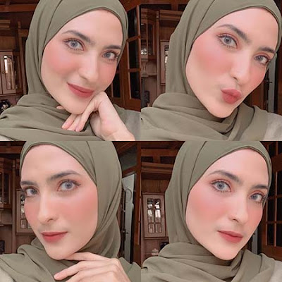 Shirin Safira Pakai Jilbab