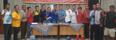 Pengurus Perspans Panjang Gelar Rapat Kepanitian Open Tournament Perspans Cup Antar Perusahaan