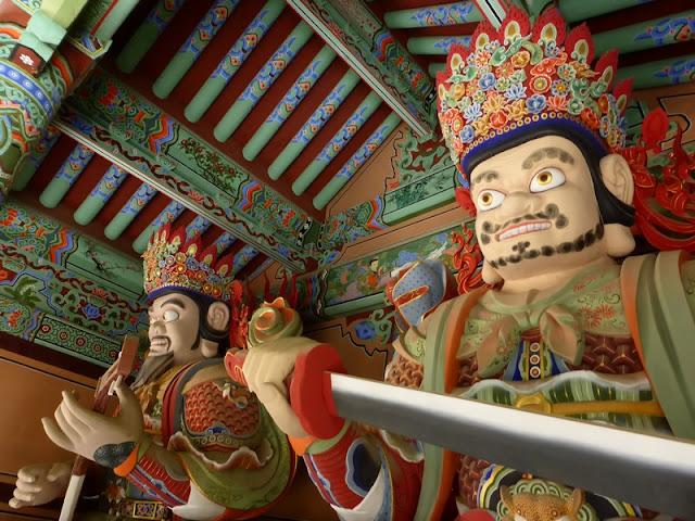 Guardianes: Dhrtarastra del Este - Virudhaka del Sur