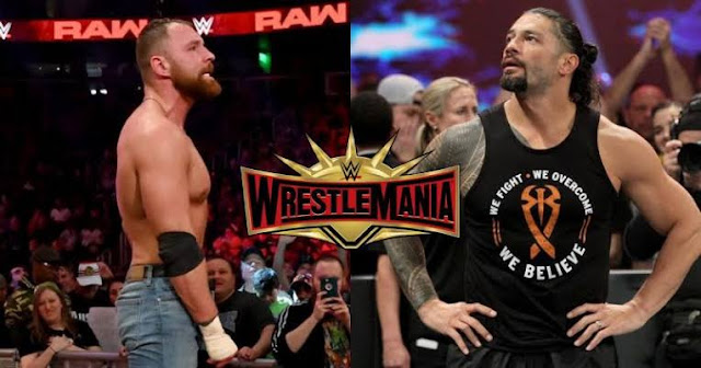 Dean Ambrose vs Roman Reigns at Wrestlemania 35