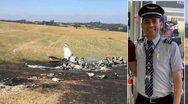 Piloto paraibano morre em queda de avião em São Paulo, na manhã da ultima terça 19/05